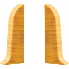 Заглушка левая и правая T-plast 58 мм дуб золотой 063, 2 шт.