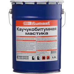 Мастика каучукобитумная Bitumast 5 л