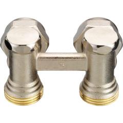 Клапан запорно-присоединительный Danfoss RLV-KS угловой