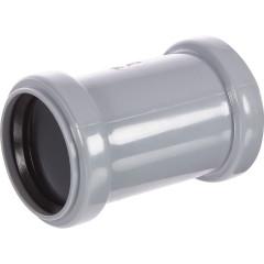 Муфта полипропиленовая Ростурпласт соединительная с перегородкой 50 мм