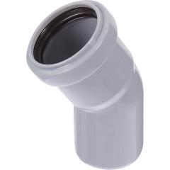 Отвод полипропиленовый Ростурпласт 50 мм 30 градусов