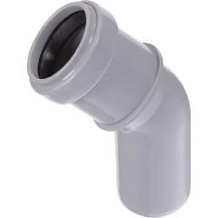Отвод полипропиленовый Ростурпласт 32 мм 45 градусов