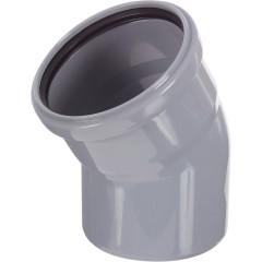 Отвод полипропиленовый Ростурпласт 110 мм 30 градусов