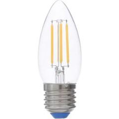 Лампа светодиодная Uniel GLA01TR LED-C35-5W/WW/E27 теплый