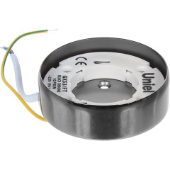 Светильник накладной Uniel GX53 IP20 8.2 см черный хром