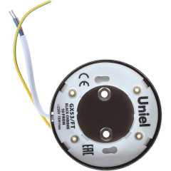 Светильник накладой Uniel GX53 IP20 8.2 см Черный Хром