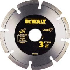 Алмазный круг по граниту Dewalt 125x22.23 мм 7.5 мм
