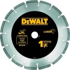 Алмазный круг универсальный Dewalt 230х22.23 мм 8.5 мм