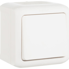 Выключатель Legrand Quteo 10 А 250 В IP 44 белый