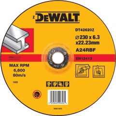 Круг обдирочный по металлу Dewalt Industrial 230х6.3 мм тип 27