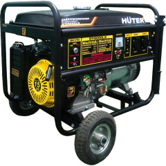 Бензиновый генератор Huter DY8000LХ-3