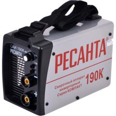 Аппарат сварочный инверторный Ресанта САИ-190К