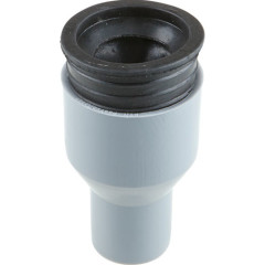 Переходник полипропиленовый Ростурпласт с пластика на чугун в комплекте с манжетой 50x75 мм