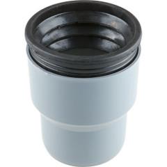 Переходник полипропиленовый Ростурпласт с пластика на чугун в комплекте с манжетой 110х124 мм