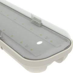Рассеиватель для светильника Strong IP65 1242x90x68 мм прозрачный, 3 шт.