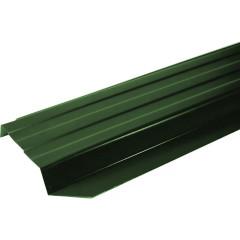 Штакетник П-образный А 0.45 PE RAL 6005 зеленый мох 2 м