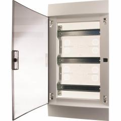 Бокс в нишу ABB Mistral41 1SLM004101A1207 36М прозрачная дверь 3 ряда c клеммами
