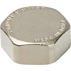 """Заглушка никелированная Stout SFT-0027-000001 1"""" внутренняя резьба"""