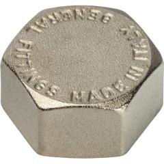 """Заглушка никелированная Stout SFT-0027-000112 1 1/2"""" внутренняя резьба"""