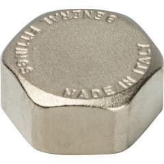 """Заглушка никелированная Stout SFT-0027-000034 3/4"""" внутренняя резьба"""