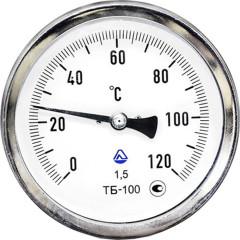 Термометр биметаллический Стеклоприбор ТБ-100-100 0+150-1.5-О ТУ У 33.2-14307481-033:2005