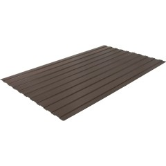 Профнастил Grand Line Optima С10В 0.4 PE RAL 8017 200x118x0.04 см полиэстер (PE) шоколад