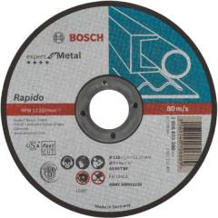 Диск отрезной Bosch Expert по металлу 125х1.0 мм прямой