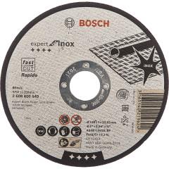 Диск отрезной Bosch Expert for Inox 125х1.0 мм прямой