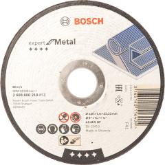Диск отрезной Bosch Expert по металлу 125х1.6 мм прямой