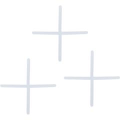 Крестик для кафеля Стройбат 1.0 мм, 100 шт.