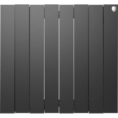 Радиатор отопления Royal Thermo PianoForte 500 Noir Sable 8 секций