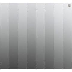 Радиатор отопления Royal Thermo PianoForte 500 Silver Satin 8 секций