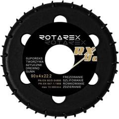 Фреза Rotarex RX/90 блистер d 90х22.2 мм