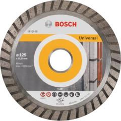 Диск отрезной Bosch Standard for Universal Turbo алмазный 125х22.23 мм