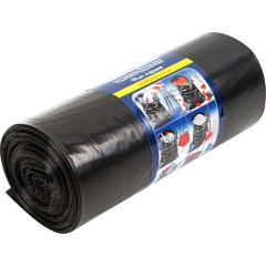 Универсальные мешки для мусора Unibob цвет чёрный 220 л, 10 шт.