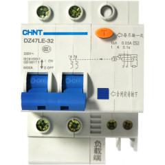 Автомат дифференциальный CHINT DZ47LE-32 2P 16A 30mA тип AC х-ка С 6kA