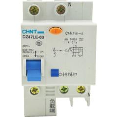 Автомат дифференциальный CHINT DZ47LE-63 2P 40A 30mA тип AC х-ка С 6kA