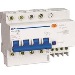 Автомат дифференциальный CHINT DZ47LE-32 4P 25A 30mA тип AC х-ка С 6kA