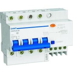 Автомат дифференциальный CHINT DZ47LE-63 4P 40A 30mA тип AC х-ка С 6kA