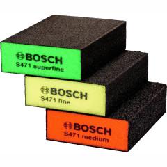 Набор губок шлифовальных Bosch Best for Flat 2608621253 69x97x26 мм, 3 шт.