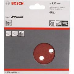 Набор шлифовальных листов Bosch C470 Best for Wood and Paint D125 мм К60/120/240, 6 шт.