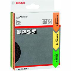 Набор губок шлифовальных Bosch Best for Contour 2608621254 98x120x13 мм, 3 шт.