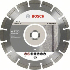 Диск отрезной Bosch Standard for Concrete алмазный 230х22.23 мм