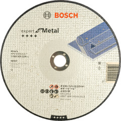 Диск отрезной Bosch Expert по металлу 230х3.0 мм прямой