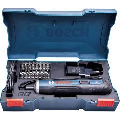 Аккумуляторный шуруповерт Bosch Professional с набором бит Li-Ion 3.6 В 1.5 мА·ч
