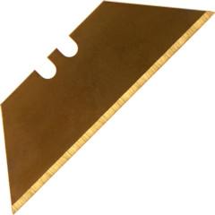 Лезвия для ножа Brigadier трапециевидные титановое покрытие, 5 шт.