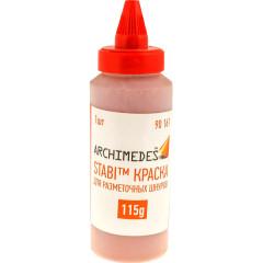 Порошок для разметочного шнура Archimedes красный 115 г