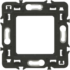 Суппорт Legrand для серии Batibox 2 модуля серый