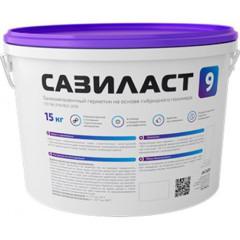 Герметик полимерный для швов Сази Сазиласт 9 серый 15 кг