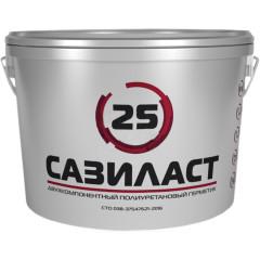 Герметик полиуретановый для швов Сази Сазиласт 25 белый 10.5 кг